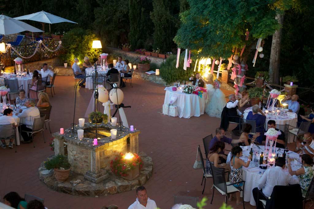 Matrimoni ed eventi Borgo il Poggiaccio