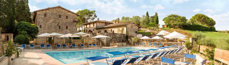 Residence avec piscine en Toscane